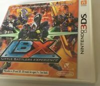 authentic Little Battles Experience LBX (Nintendo 3DS) Game & Case Missing book