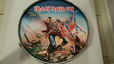 "IRON  MAIDEN    ""THE  TROOPER""   14""  DRUM   NEW / LICENSED"