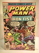 Power Man #48 (1972) 3.5 VG- 1st Meeting of Iron Fist & Luke Cage