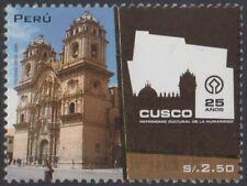 Peru 1818 2009 cusco a world cultural heritage mnh