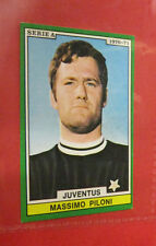 FIGURINA EDIS CALCIATORI 1970-71 MASSIMO PILONI JUVENTUS