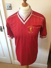 Liverpool FC Originals Retro Shirt European Cup Final Rome 1984 size Small