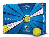 Callaway ERC Soft Golf Balls - 1 Dozen Yellow -  Mens