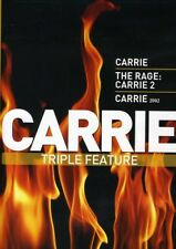 Carrie Triple Feature: Carrie (1976) / The Rage: Carrie 2 / Carrie (2002) [New D