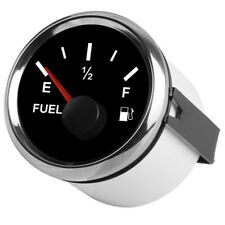 Car Fuel Level & Boat Marine Fuel Tank Level Gauge 12/24V 52mm 240-33 ohms