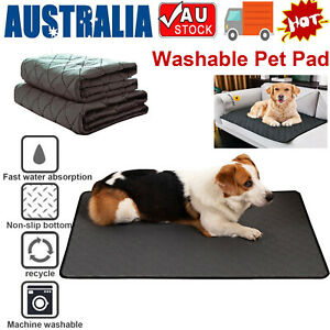 Washable Pet Dog Pee Pad Quick Dry Reusable Cat Puppy Training Wee Mat Pads Bed
