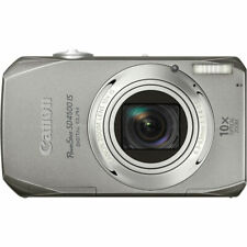 New Canon PowerShot SD4500 IS Digital ELPH Camera 10MP 10x Optical Zoom Silver