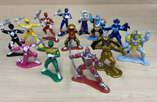 "1993-1995 Bandai Mighty Morphin Power Rangers 9 PVC 3"" Mini Collectible Figures"
