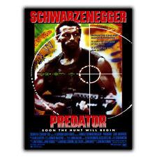 PREDATOR METAL SIGN PLAQUE Film Movie poster mancave decor cinema room