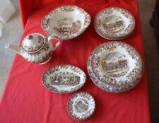 Johnson Brothers Pottery Dinner Plates 1940-1959 Date Range