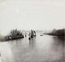 Le Havre Embarcations dans le port France Ferrier & Soulier Plaque stéréo