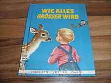 Jean Fritz -- WIE ALLES GRÖßER WIRD / Daxi-Buch  # 7 // Carlsen 1964