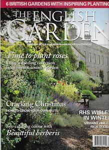 English Garden Magazine Roses Growing Nuts Berberis RHS Wisley In Winter 2012
