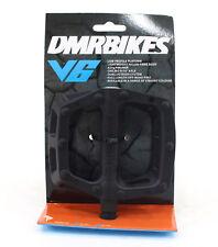 DMR V6 Pedals 9/16 Plastic Platform Black