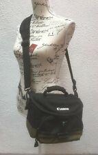 Canon Camera Bag Shoulder Waist Padded Clip Strap Black Nylon Carry Adjustable