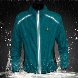 Windbreaker Cycling Jacket MTB Mountain Bike Rain Coat Long Sleeve Cycle Jersey