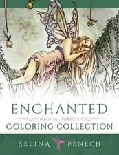 Fantasy Art Coloring Books for Adults Enchanted Magical Forests Collection Fairy