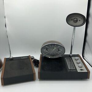 Longines Symphonette LCR 511 Clock Radio night light Slumber Center W Sat. Speak