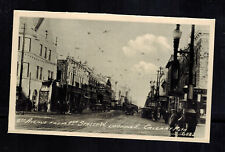 Mint Canada real picture Postcard RPPC Calgary 8th Avenue Main Street View