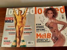 Loaded Magazine Spice Girls Mel B and Sporty Spice Mel C