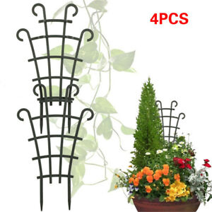 Plant Vines Climbing Trellis Garden Yard Potted Supports Stand Holder AU 4pcs