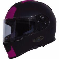 TORC Mako T14B Bluetooth Full Face Motorcycle Dual Visor Helmet - DOT ECE