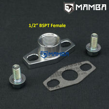 "1/2"" BSPT Female Turbo Oil Return Flange Kit Garrett GTX2867R GT2871R GT2876R"