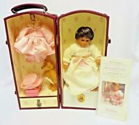 "Lee Middleton BABY & ME 8"" Baby Doll w/CASE 2002 Collectors' Club Members-Only"
