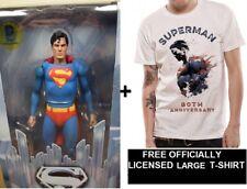 """Genuine Neca 7"""" película de Superman Reeve 1978 Figura De Acción Dc Comics + Gratis Camiseta"""