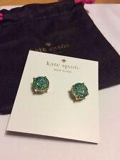$28 Authentic Kate Spade Gum Drop Stud Earrings in Grace Blue #255