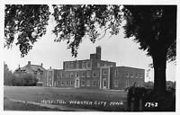 Real Photo Postcard Hospital in Webster City, Iowa~121595