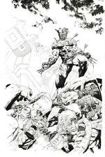 Tony Parker Wolverine Original Art Sketch 11x17 (Armenia Charity Fund)