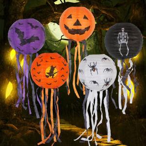 Pumpkin Night Light LED Lamp Halloween Party Hanging Lantern Home Decoration NEW