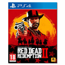 RED DEAD REDEMPTION 2 PS4 NUOVO SIGILLATO ORIGINALE DISCO FISICO