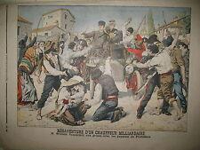 AUTO MILLIARDAIRE VANDERBILT PONTEDERA ASSISES DE LA SEINE LE PETIT JOURNAL 1906
