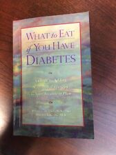 What to Eat If You Have Diabetes by Daniella Chace and Maureen Keane (1999, Pape