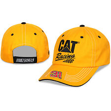 Ryan Newman Checkered Flag Sports #31 Cat Racing Qualifier Hat FREE SHIP!