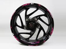 Rim Autocollants Kit 710025 Blitz Rose Vélo Voiture Design 16,17 et 18 Pouces