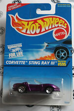 hot wheels 1/64  corvette sting ray III 595