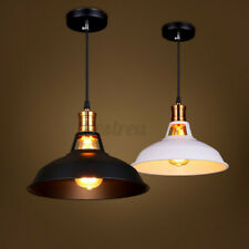 Modern Industrial Chandeliers Hanging Ceiling Light Pendant Lamp Shade  W F