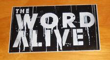 The Word Alive Sticker Original Promo (rectangle) 5x3
