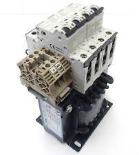 ELTRA NT 0,32-1-MSA Trenn-Transformator Pri 400V Sec 230V 320VA 4x 5SY41 MCB C2