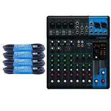 Yamaha MG10XU 10-Input Mixer mit 4 gratis XLR Kabel ** NEU **
