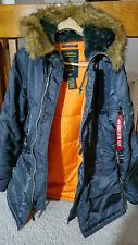 Alpha Industries Slim Fit N-3B Men's Extreme Cold Weather Parka  Size M