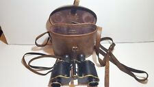Private purchase WW1 Officers Binoculars Graeat Britain with case used condition