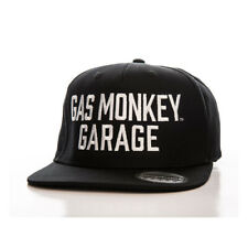 GAS MONKEY GARAGE SNAPBACK CAP - BLACK **BRAND NEW** **IN STOCK**