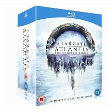 STARGATE ATLANTIS COMPLETE SERIES COLLECTION 1-5 BOX SET 20 DISC BLU-RAY RB NEW
