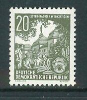 Luxus DDR Michel-Nr. 413 XI postfrisch ** gepüft Ruscher BPP - Mi. 90,-