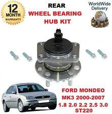 pour Ford Mondeo Mk III Modèles 2000-2007 ESSIEU ARRIÈRE Kit roulement de roue