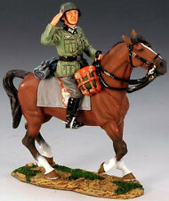 KING & COUNTRY FIELDS OF BATTLE FOB056 GERMAN WEHRMACHT MOUNTED OFFICER MIB